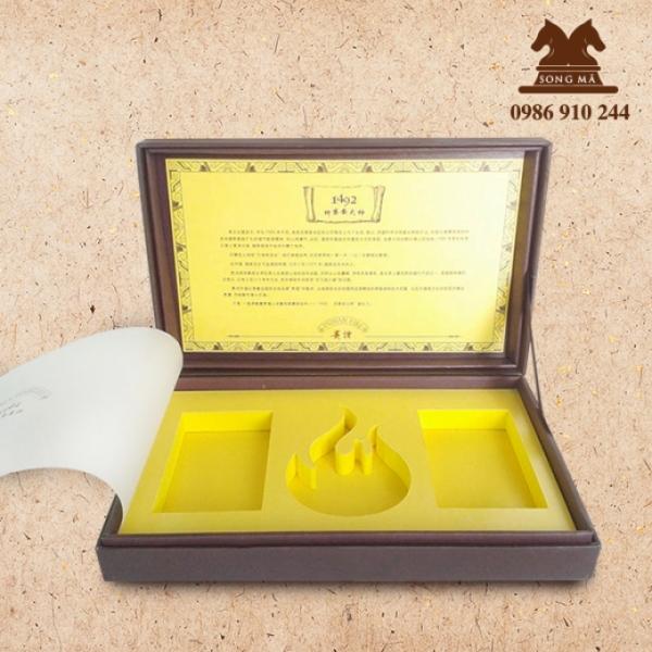 Mẫu hộp quà cao cấp - HCC19