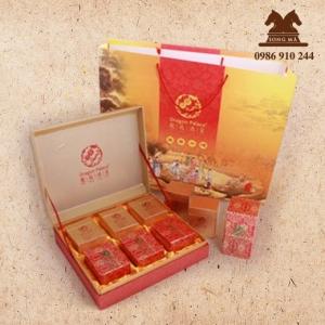 Mẫu hộp quà cao cấp - HCC21