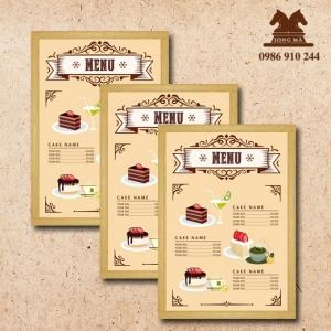Mẫu thực đơn menu ME04