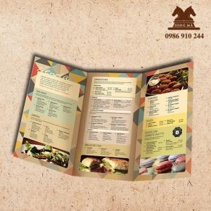Mẫu thực đơn menu ME06