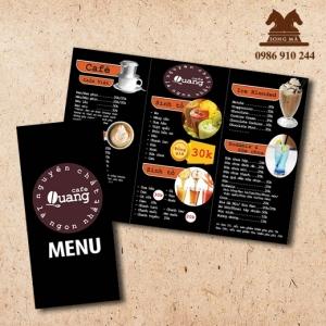 Mẫu thực đơn menu ME08