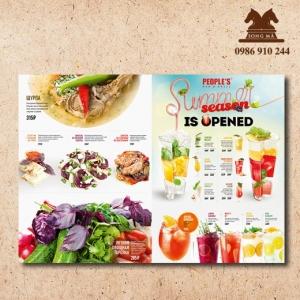 Mẫu thực đơn menu ME10