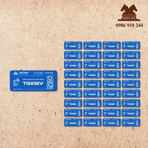 Mẫu tem bảo hành TBH12