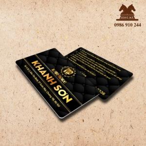 Mẫu thẻ nhựa TN01